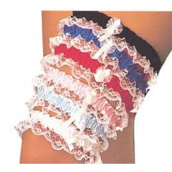 Assorted Leg Garters with Lace Corsets Plus Corsets - Steel Boned Corsets, Waist Training, Body Shapers
