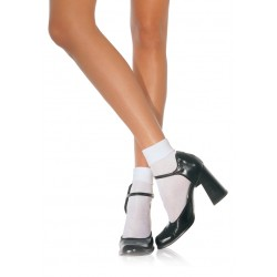 White Cuffed Anklets for Women Corsets Plus Corsets - Steel Boned Corsets, Waist Training, Body Shapers