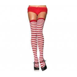 Stripped Thigh High Stockings 3 Pack Corsets Plus Corsets - Steel Boned Corsets, Waist Training, Body Shapers