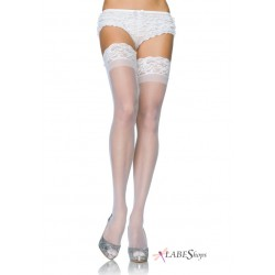 Sheer Stay Up Thigh High Stockings Corsets Plus Corsets - Steel Boned Corsets, Waist Training, Body Shapers