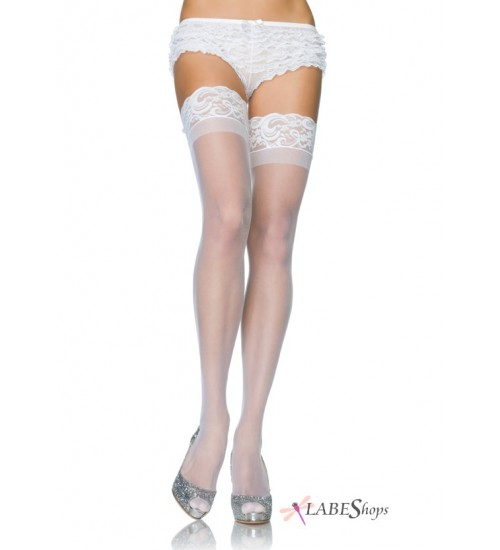 Sheer Stay Up Thigh High Stockings at Corsets Plus, Corsets - Steel Boned Corsets, Waist Training, Body Shapers