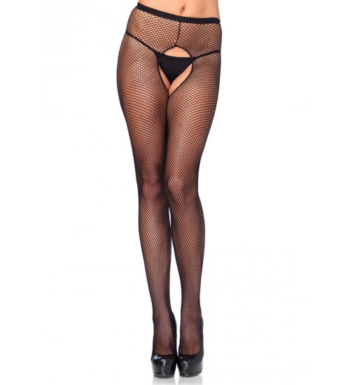 Fishnet Crotchless Pantyhose  - Pack of 3 at Corsets Plus, Corsets - Steel Boned Corsets, Waist Training, Body Shapers