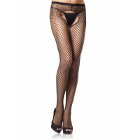 Industrial Net Crotchless Pantyhose  - Pack of 3