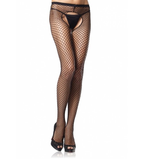 Industrial Net Crotchless Pantyhose  - Pack of 3 at Corsets Plus, Corsets - Steel Boned Corsets, Waist Training, Body Shapers
