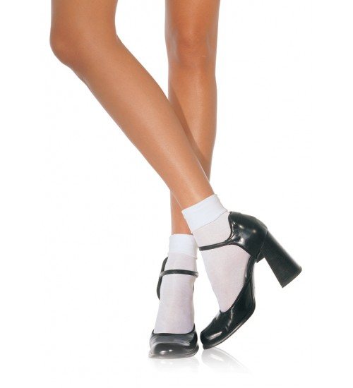 White Cuffed Anklets for Women at Corsets Plus, Corsets - Steel Boned Corsets, Waist Training, Body Shapers