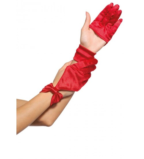 Satin Cut Out Gloves at Corsets Plus, Corsets - Steel Boned Corsets, Waist Training, Body Shapers
