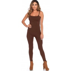 Basic Womens Unitard in Brown Corsets Plus Corsets - Steel Boned Corsets, Waist Training, Body Shapers