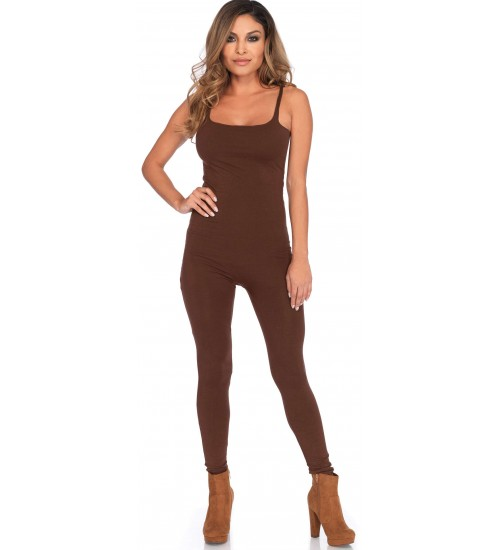 Basic Womens Unitard in Brown at Corsets Plus, Corsets - Steel Boned Corsets, Waist Training, Body Shapers