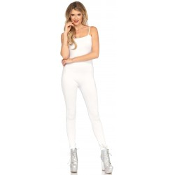 Basic Womens Unitard in White Corsets Plus Corsets - Steel Boned Corsets, Waist Training, Body Shapers