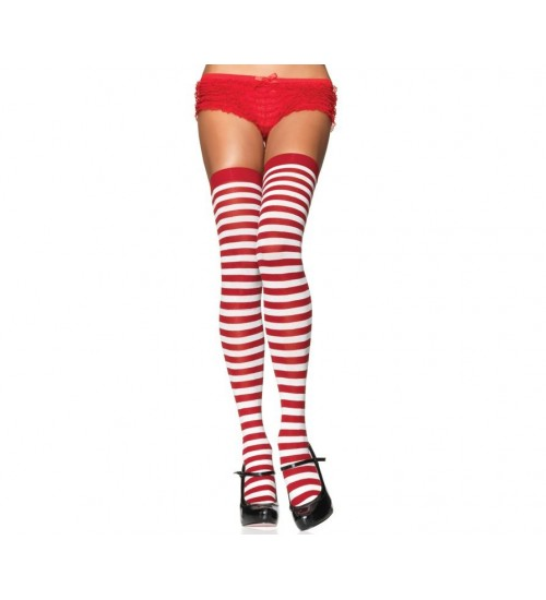 Stripped Thigh High Stockings 3 Pack at Corsets Plus, Corsets - Steel Boned Corsets, Waist Training, Body Shapers