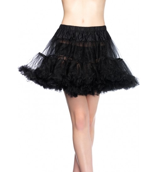 Plus Size Layered Tulle Petticoat at Corsets Plus, Corsets - Steel Boned Corsets, Waist Training, Body Shapers