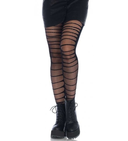 Double Layer Shredded Tights at Corsets Plus, Corsets - Steel Boned Corsets, Waist Training, Body Shapers