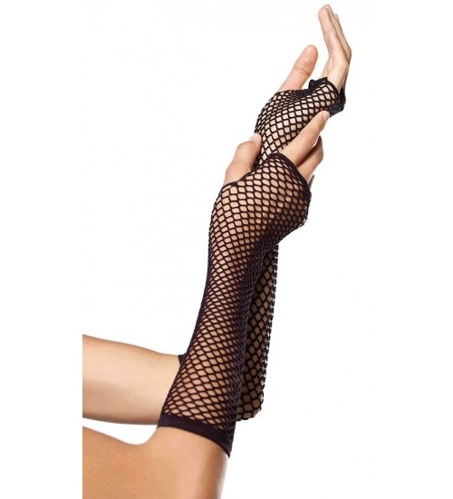 Black Triangle Net Fingerless Gloves at Corsets Plus, Corsets - Steel Boned Corsets, Waist Training, Body Shapers